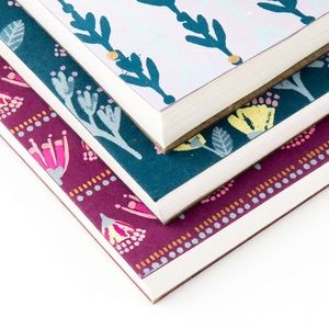 Paper Destiny Office - Paper Destiny Painterly Purple & Teal Notepads